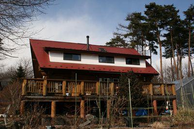 ログハウス~小澤邸、南面