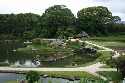 岡山の後楽園