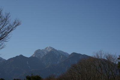 八ヶ岳、ミニログハウス